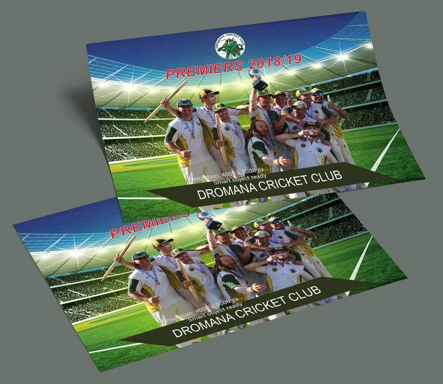 Konkurrenceindlæg #23 for Graphic Art - Cricket Club Flyer