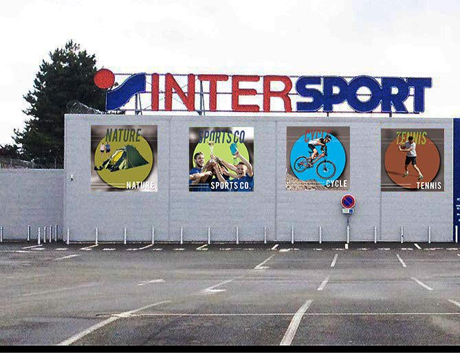 Proposition n°11 du concours Nouveaux visuels sur la façade d'un magasin