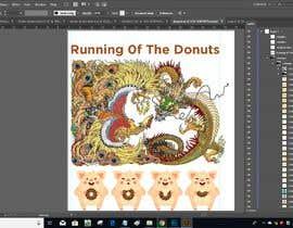 #7 para Design a t-shirt for the 2019 Running of the Donuts por PSdesigner280