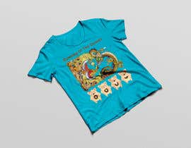 #9 para Design a t-shirt for the 2019 Running of the Donuts por PSdesigner280
