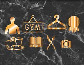 Fardous772 tarafından all logos in gold on black marble background için no 25
