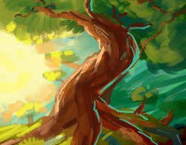 nº 14 pour Illustrate Tree for Card Back in a Game par chrimation