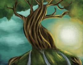 #12 for Illustrate Tree for Card Back in a Game af derahma