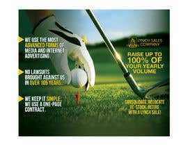 nº 41 pour New Design Idea for a trade show backdrop - Golf Themed par teAmGrafic