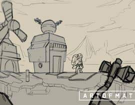 "#1 para Concept art for 2d game ""2 sketches needed"" por tamzania"