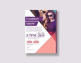 #69 untuk Fashion Show Flyer oleh designsourceit