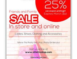 #25 for Design an flyer for Friends and Family Sale af CDesigner360