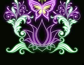 #46 for Create a Neon Flower Design With Lots of Flowers (full image coverage) af mohhomdy