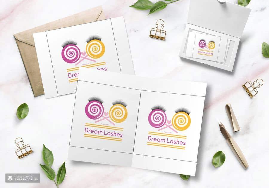 Penyertaan Peraduan #67 untuk Eyelash Brand Name, Logo, and Packaging Suggestions