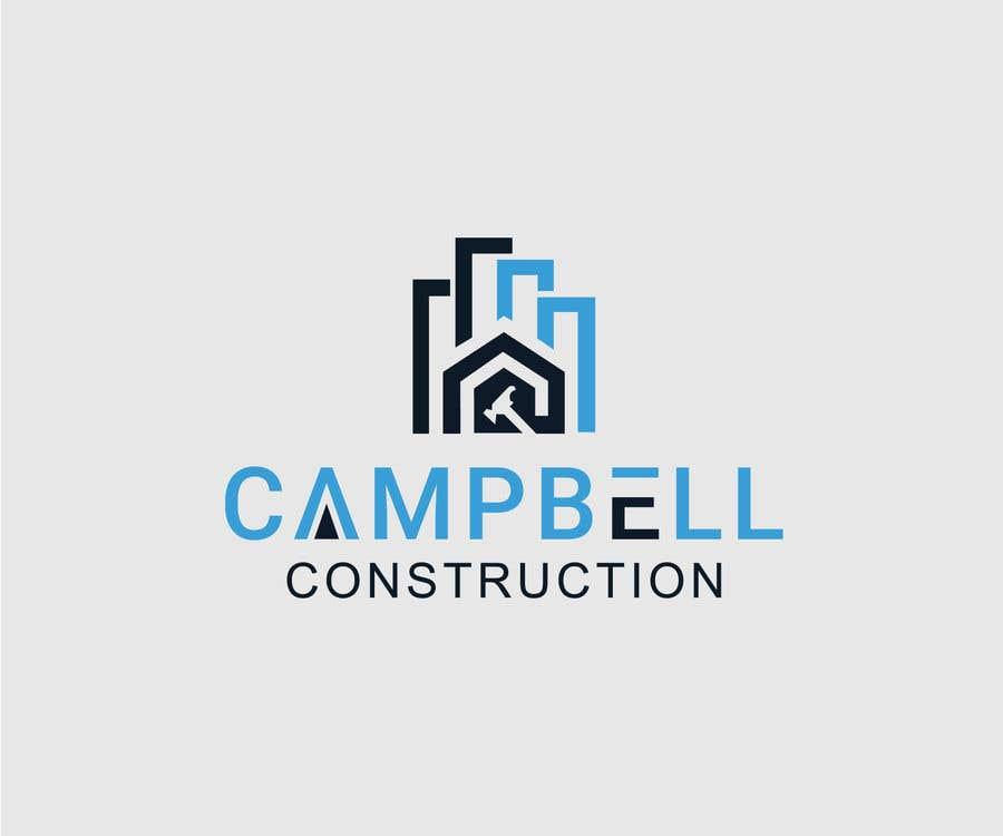 Penyertaan Peraduan #75 untuk Logo for Construction Business