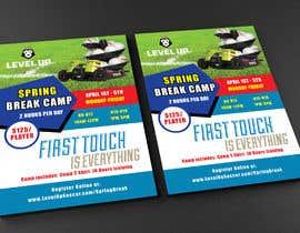 shah14940 tarafından URGENT Flyer Design for Spring Break Soccer Camp için no 44