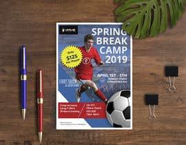 #30 untuk URGENT Flyer Design for Spring Break Soccer Camp oleh Rifatpial0