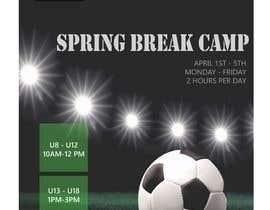 zubayerahamed98 tarafından URGENT Flyer Design for Spring Break Soccer Camp için no 40
