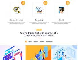 #14 untuk Website for Digital Marketing Company oleh shozonraj041