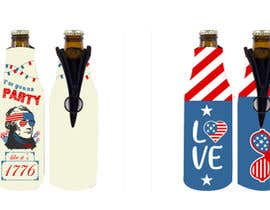 leodenega tarafından 4th of July Beer Bottle Koozie Patterns için no 55