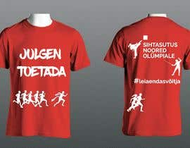 nº 124 pour Attention-grabber sports T-shirt for sports charity par yesimmst
