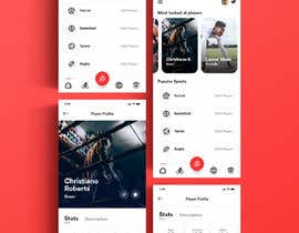 #14 cho App Design for Sports Scouting App bởi UIXGhost