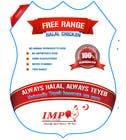 Graphic Design Inscrição do Concurso Nº32 para Graphic Design for US chicken label to be placed on bagged chicken