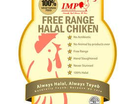 Nro 18 kilpailuun Graphic Design for US chicken label to be placed on bagged chicken käyttäjältä dondonhilvano