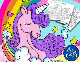 #42 cho Unicorn Activity Book Cover Ages 6-10 (Book 2) bởi marianayepez