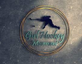 nº 20 pour Girl Hockey Logo par shadyhesham2013