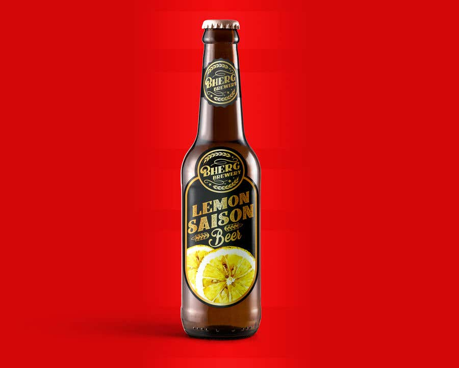 Proposition n°                                        40                                      du concours                                         Design a label for a beer bottle
