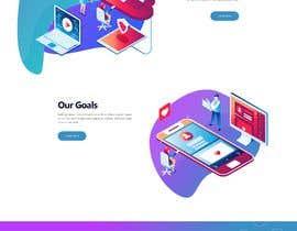 #21 para Mockups UX/UI design for Website por tajenul