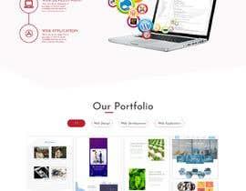 #16 para Mockups UX/UI design for Website por iamwales