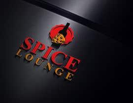 #54 for Design me a logo for spice lounge and slogan af khinoorbagom545