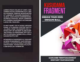 #9 for Design kusudama book cover af MUsmanAshraf123