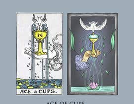nº 58 pour Illustrate tarot card graphics par EcemDede