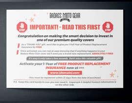 #41 cho Design a product insert/2 sided postcard. bởi MooN5729
