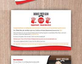 #45 cho Design a product insert/2 sided postcard. bởi CDesigner360