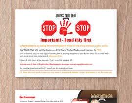 #65 cho Design a product insert/2 sided postcard. bởi CDesigner360