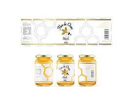 #10 para Rótulo para pote de mel FLOR DE OURO por matiasalonsocre