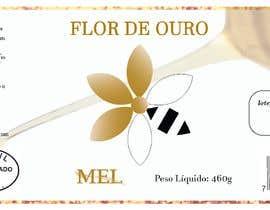 #8 para Rótulo para pote de mel FLOR DE OURO por LariBaldissera