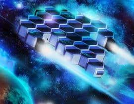 #33 for Concept Art for sci-fi base building game af jorzsitse