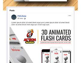 #16 untuk Create Facebook Ad for Kids App oleh becretive