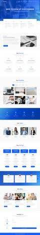 Miniatura da Inscrição nº 2 do Concurso para Social Media Marketing Agency Web site Mock Up