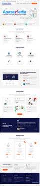 Miniatura da Inscrição nº 17 do Concurso para Social Media Marketing Agency Web site Mock Up