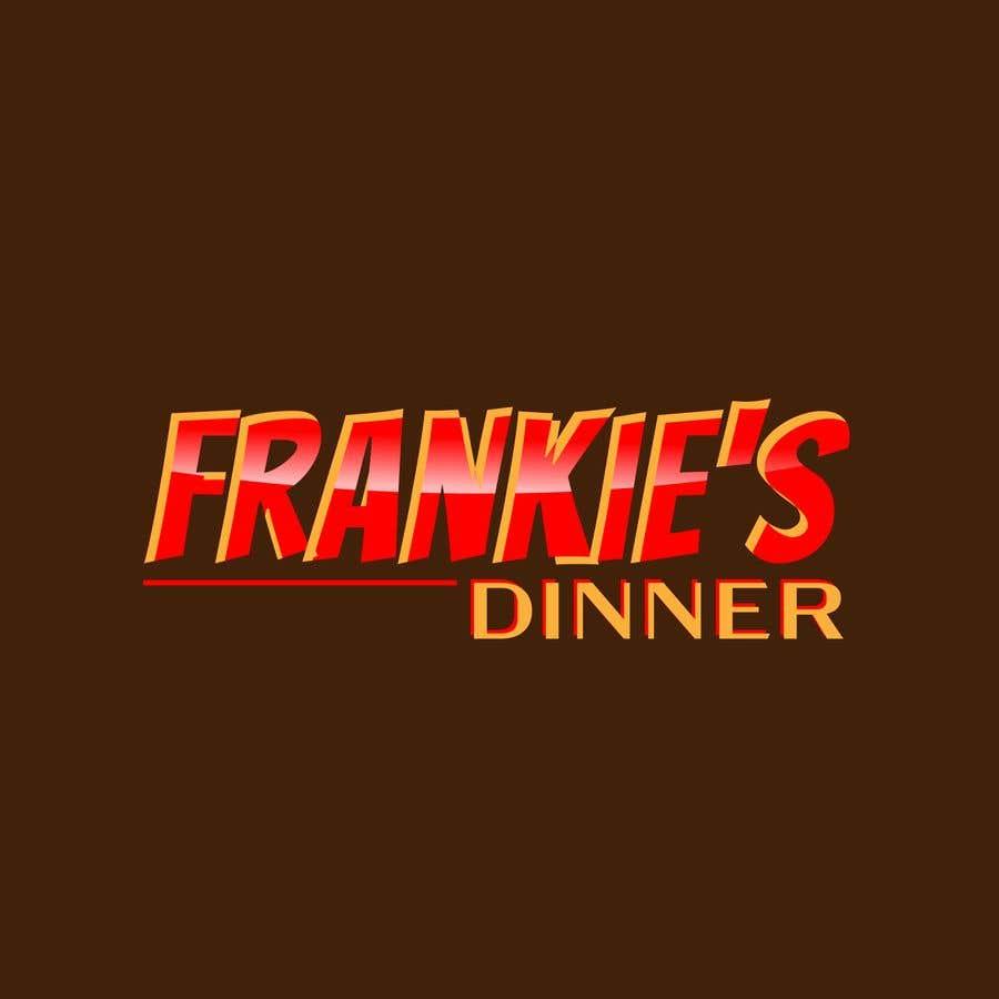 Penyertaan Peraduan #204 untuk Frankie's Diner Logo
