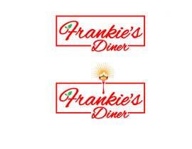 #81 untuk Frankie's Diner Logo oleh mezikawsar1992