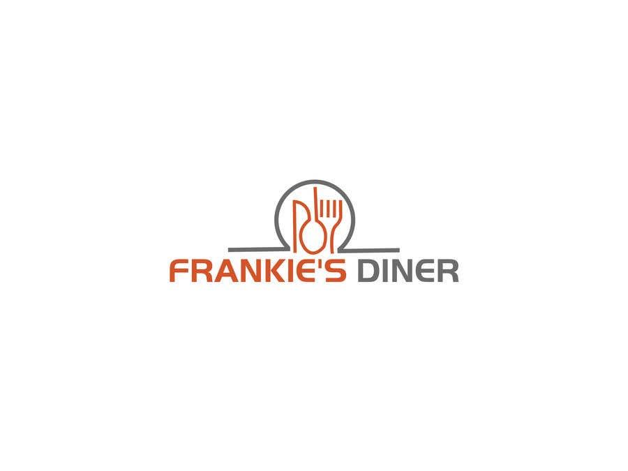 Penyertaan Peraduan #89 untuk Frankie's Diner Logo