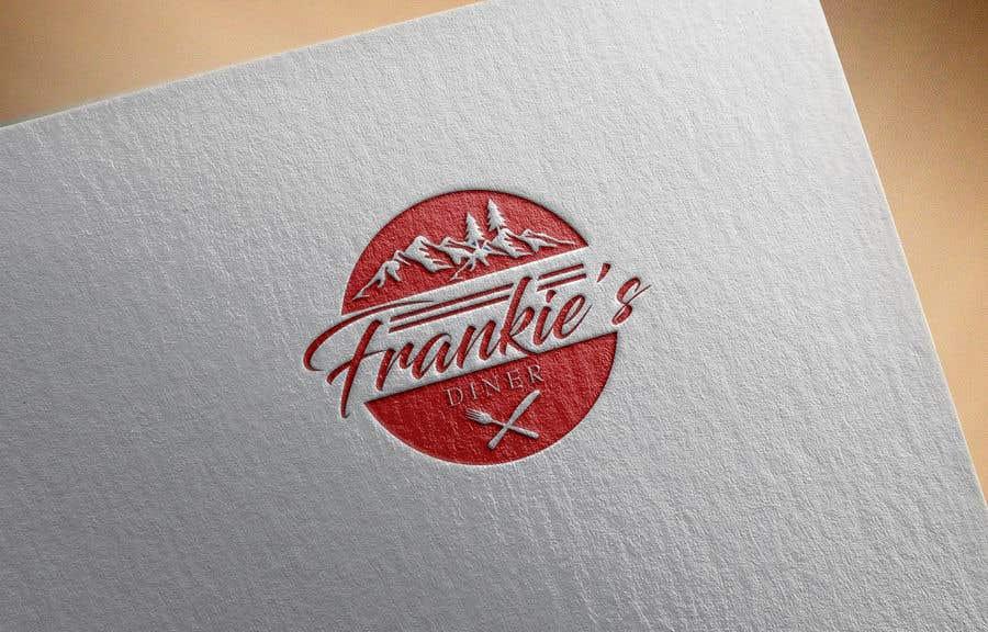 Penyertaan Peraduan #107 untuk Frankie's Diner Logo