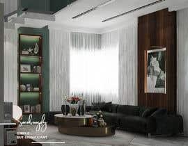 nº 21 pour Interior design fir my living area par sarahnagdy