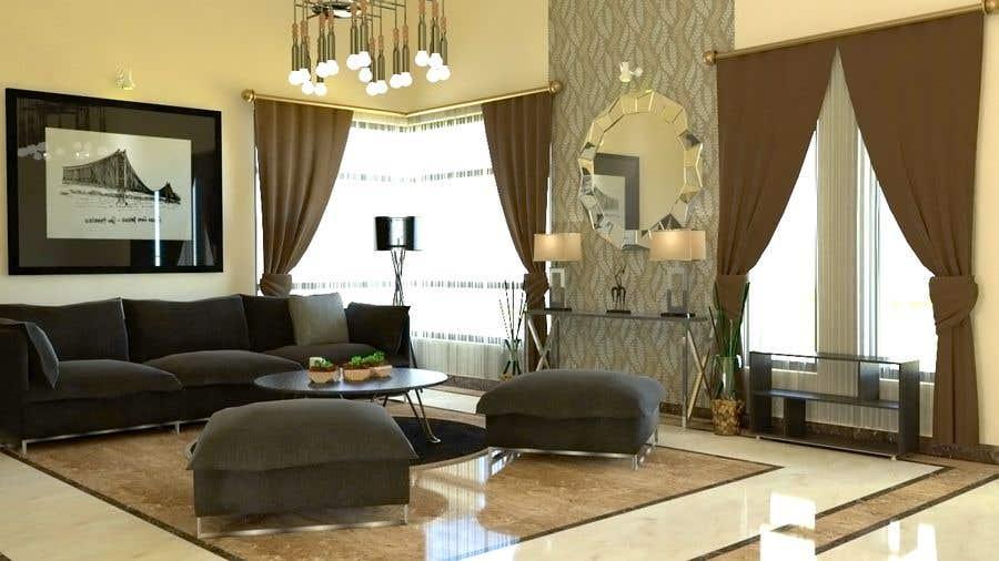 """Intrarea #10 pentru concursul """"Interior design fir my living area"""""""