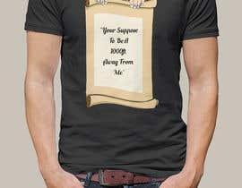nº 15 pour Design a Tee Shirt par gobinda0012