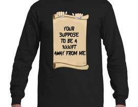 nº 24 pour Design a Tee Shirt par wizdumbledore