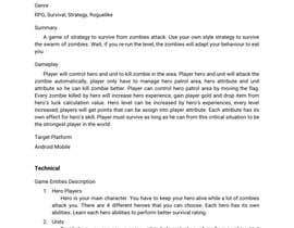 Nro 12 kilpailuun Make Innovative Game Design Document käyttäjältä MHeruArt07