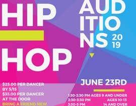 nº 2 pour Hip Hop Flier For Auditions par UsuarioSisifo
